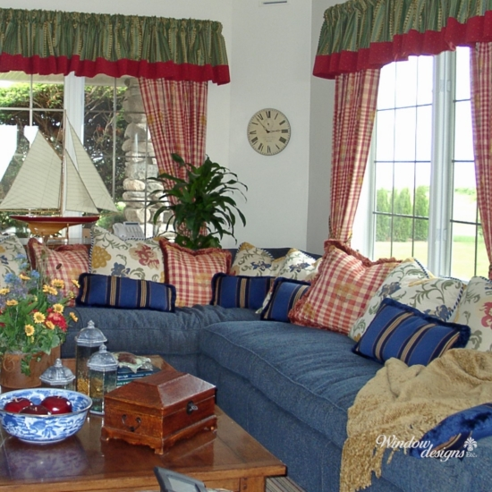 Curtains-gathered-valance-tied-back-Worcester-MA