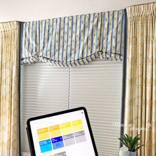 Motorized or automatic shades, blinds and drapery operated by voice control or an app in Holden, MA