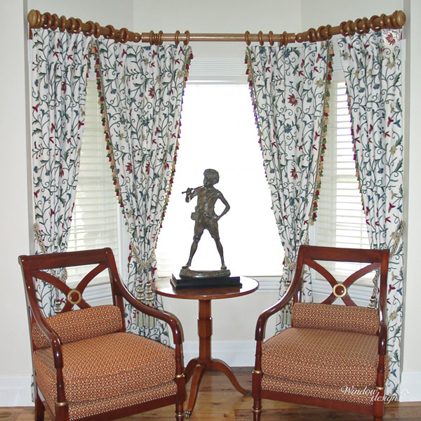 Pleated-embroidered-curtains-tied-back-tassels-Princeton-MA