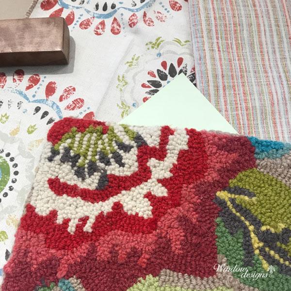Sunroom-Decorating-Consult-Area-Rug-Chair-Ottoman-Walls-Rutland